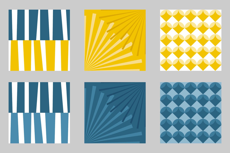 Modern Ocean fabric designs